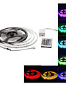 LED Strip Light Waterproof Outdoor 5M with 24-Button Remote Controller Set