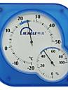 Dull Conception polonaise Desk-Top Thermomètre et hygromètre (Bleu)