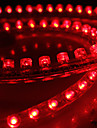Waterproof 48cm 48-LED Red LED Strip Light for Car (12V)
