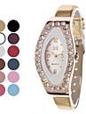 Модный женский стиль PU аналоговые кварцевые наручные часы (разных цветов)