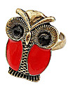 Owl Alloy Ring