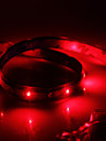 Waterproof 60cm 24-LED Red LED Strip Light (12V)