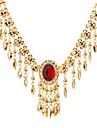 Золотой Ожерелья-бархатки Для вечеринок / Повседневные Бижутерия