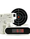 디지털 알람 시계를 촬영 참신 레이저 총 대상 (4xAA를)