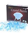 Swan 3D Crystal Puzzle (41pcs, Model:9011, Random Color)