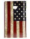 LG E400/L3을위한 레트로 스타일 미국 국기 패턴 하드 케이스