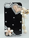 Floral Pearl Pendant Case for iPhone 4/4S