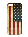 caso retro nosotros modelo de la bandera duro para el iphone 5/5s