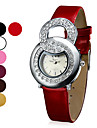 Fashional estilo analógico PU Quartz Relógio de pulso das mulheres (cores sortidas)