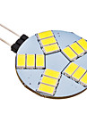 4W G4 LED Bi-pin Lights 15 SMD 5630 350 lm Natural White AC 12 V
