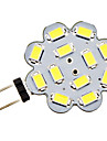3W G4 LED Bi-pin Lights 12 SMD 5730 270 lm Natural White DC 12 V
