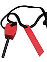 Magnesio di sopravvivenza del bastone con la corda di nylon e accensione ferro (colore casuale)