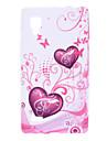 Etui de modèle de coeur pour LG Optimus P769 L9