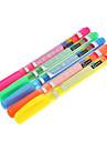 5 Pack Highlighter colores (amarillo, rojo, naranja, verde, azul)