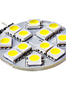 3W G4 LED Bi-pin Lights 12 SMD 5050 50 lm Natural White DC 12 V