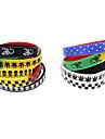 5 Modelo de pulsera de goma colorida de dibujos animados Pack (color al azar)