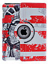 Chinese Soldier Pattern 360 Degree Rotatable Full Body Case with Stand for iPad 2/3/4