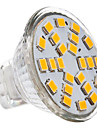 3W GU4(MR11) LED Spotlight MR11 24 SMD 2835 230 lm Warm White DC 12 / AC 12 V