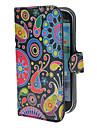 Kleurrijke Schilderen Patroon PU lederen tas met standaard en Card Slot voor Samsung Galaxy S3 I9300