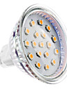 GU5.3(MR16) 4W 15 SMD 2835 300 LM Warm White MR16 LED Spotlight DC 12 V