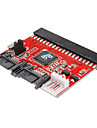 0.2M 0.6FT New 3.5 IDE HDD to SATA 100/133 Serial ATA Converter Adapter +Cable