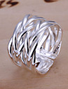 Ring Party Daily Jewelry Alloy Silver Plated Women Band Rings 1pc,Adjustable Gold