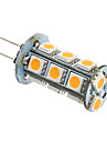 3W G4 / GU4(MR11) LED-maislampen T 18 SMD 5050 180-220 lm Warm wit / Koel wit AC 12 V