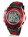 LCD Digital Multi-Function Dial Rubber relogio de pulso banda Men (cores sortidas)