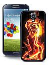 Para Samsung Galaxy Capinhas Estampada Capinha Capa Traseira Capinha Mulher Sensual PC Samsung S4