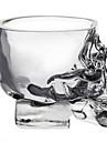 Стильные стаканы в виде черепа для домашнего бара