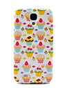 Pretty Strawberry Cakes Pattern TPU Soft Back Case Cover for Samsung Galaxy Galaxy S4 I9500