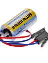 Mitsubishi A6BAT ER17330V 3.6V 2000mAh Lithium Industrial Battery w/ Plug