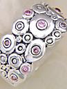 (1 Pc) Vintage Women\'s Pink Multi-Stone Ring(Pink)