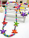 Бижутерия 1 ожерелье / 1 браслет Для вечеринок Акрил 1 комплект Девочки Как на фотографии Свадебные подарки