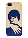 Quente Padrao Abraco Hard Case para iPhone 5/5S PC