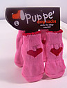 Warm Gift Soft Anti-slip Cute Socks for Pets Dogs and Cats