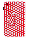 용 삼성 갤럭시 케이스 스탠드 / 플립 / 패턴 케이스 풀 바디 케이스 기하학 패턴 인조 가죽 Samsung Tab 3 8.0