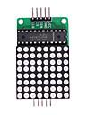 MAX7219 Red LED Dot Matrix Module MCU Control Module - Green + White