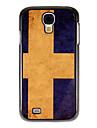 용 삼성 갤럭시 케이스 패턴 케이스 뒷면 커버 케이스 국기 PC Samsung S4