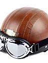 высококачественный мотоцикл половина шлем с таращить глаза
