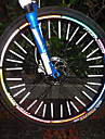 12 sztuk MTB Mountain Bike Spoke Reflective Stripe