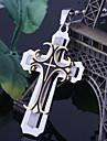 Мисс rose®titanium стали три золотые кресты мужской кулон ожерелье