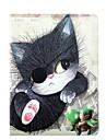 One Eyed Cat Motif Housse en cuir complet du corps avec support pour iPad Air