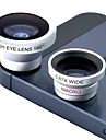 Magnetic 3 in 1 Wide Angle lens /Macro lens/180 Fish Eye Lens/ Kit Set for iPhone 5 /4 /iPad /Cellphone