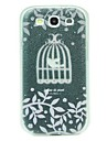 For Samsung Galaxy Case Ultra-thin / Pattern / Embossed Case Back Cover Case Animal PC Samsung S3