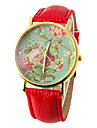 Women\'s Watch Fashion Flower Pattern