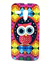 Diamond Puzzle Owl Pattern Soft Case Cover for Moto G