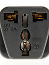AC Universal Travel Power Adapter Plug (Nero, Plug)