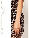 shixin® 18cm kvinnors elfenben oäkta pärla charm armband (1 st)