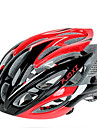 FJQXZ Ultralight 26 Vents PC + EPS Rouge Casque de velo
